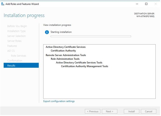 Ssl Part 1 Building A Microsoft Certificate Authority For Your