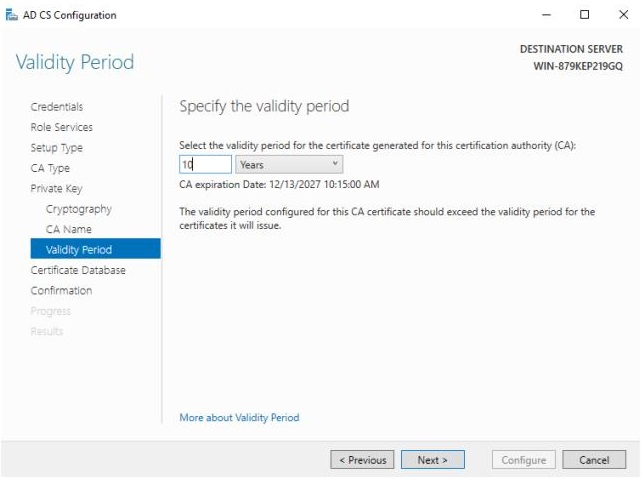 SSL : Part 1 : Building a Microsoft Certificate Authority for your